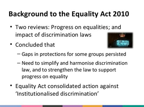 section 4 equality act 2010 equality act race equality