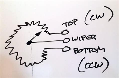potentiometer wiring diagram ewiring