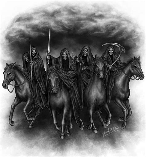the four horsemen tattoo designs the four horsemen of the apocalypse horsemen