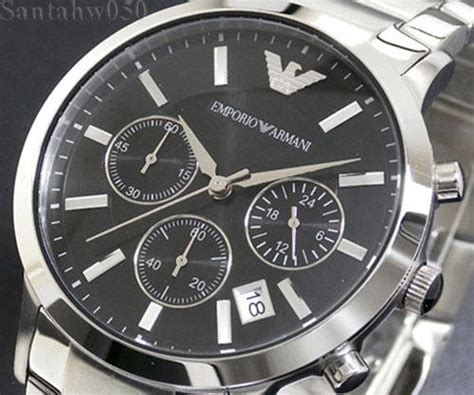 Emporio Armani Ar2434 2365 by Emporio Armani Ar2434 Emporio Armani Gent 39 S Stainless