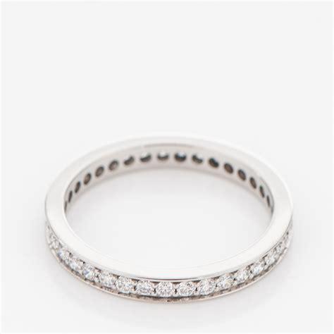 Wedding Bands Cartier by Cartier Platinum 2 4mm Ballerine Wedding Band Ring