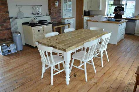 Farmhouse Kitchen Tables Uk Farmhouse Kitchen Table And Chairs Decor Ideasdecor Ideas