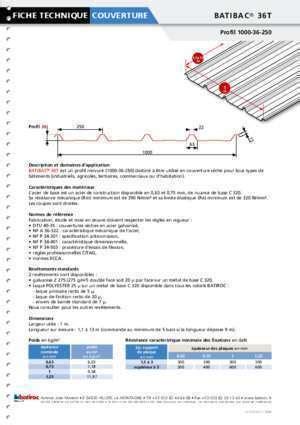 bac acier isolé 979 batibac 36t notices et pdf gratuits