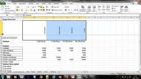 tutorial in excel 2013 tutorial excel 6 formatare celule youtube