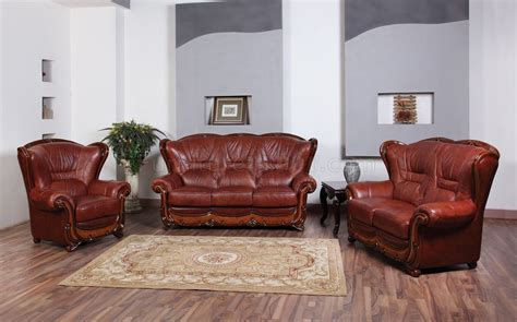 Leather Sofa Chairs by 100 Sofa In Genuine Leather By Esf W Optional Loveseat Chair