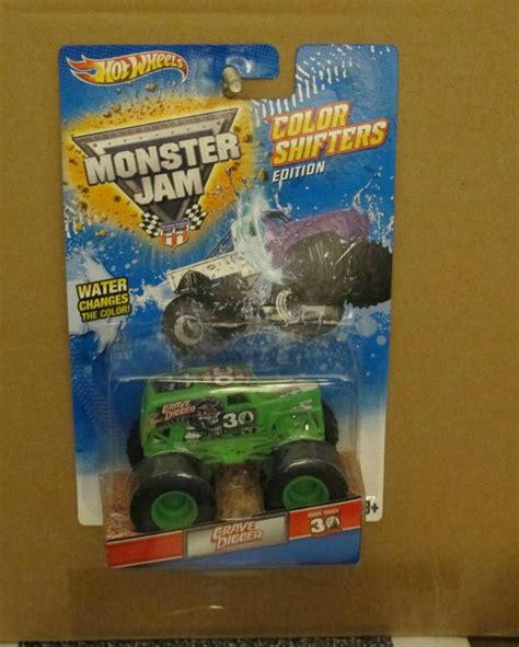 grave digger monster truck 30th anniversary wheels monster jam grave digger color changers