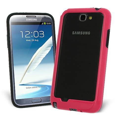 Bumper Mirror Samsung Galaxy Note 2 N7100 gel bumper skal till samsung galaxy note 2 n7100 magenta themobilestore