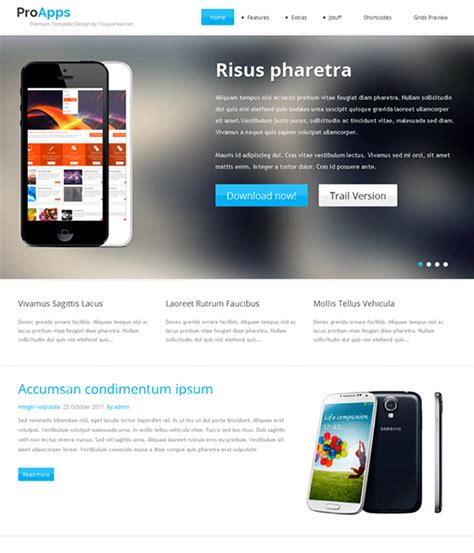joomla templates for presentation 6 of the best joomla templates for promoting iphone
