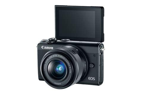 Canon Eos M100 Kit 15 45 Mm Black by Eos M100 Ef M 15 45mm Is Stm Kit