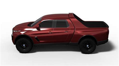 bmw pickup truck ute rendered worthy mercedes x class