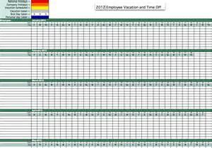 2012 employee attendance tracker employee attendance