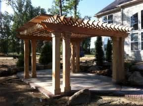 Cedar Pergolas by Build Wooden Cedar Pergola Plans Plans Download Cherry