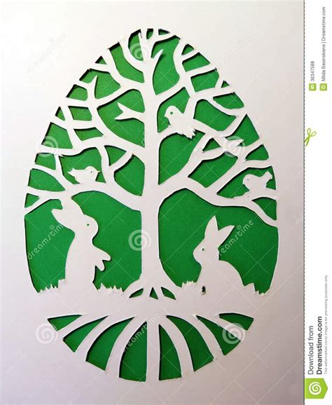 Paper Cutting Craft - easter paper crafts stock photo image of holy