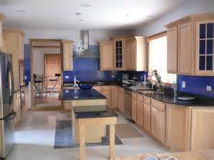 blue kitchen paint color ideas tips and tricks to decorate kitchen with blue color theme