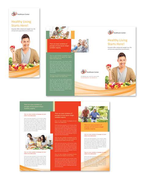 healthcare brochure templates healthcare management tri fold brochure template
