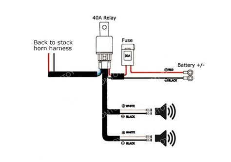 horn relay diagram 18 wiring diagram images wiring