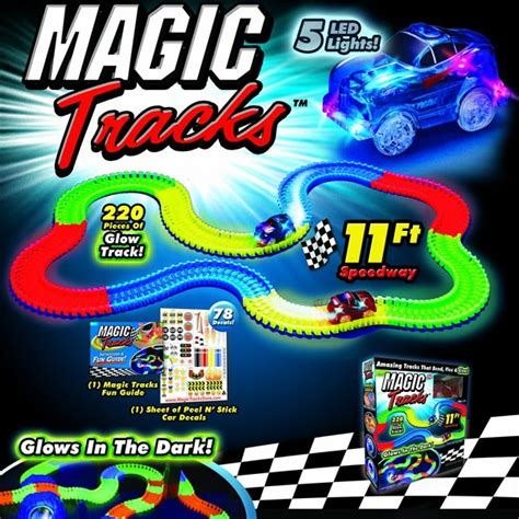 light up race track magic tracks as seen on tv