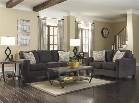 Furniture Living Room by Signature Design By Alenya Charcoal Stationary