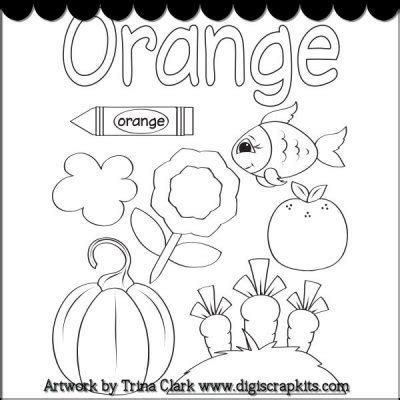 orange coloring pages getcoloringpages com