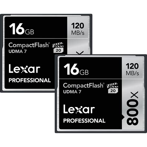 Memory Cf Compact Flash Pro 16 Gb Speed 160 Mbps lexar 16gb compactflash memory card professional