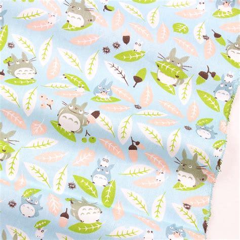 16010214 Free Shipping 50cm 150cm 100 Cotton Fabric For - 16821b63 50cm 150cm totoro series cotton cloth
