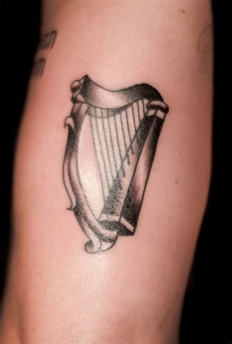 harp tattoo 27 best images about on