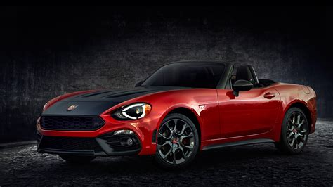 abarth car wallpaper hd fiat 124 spider abarth 2017 2 wallpaper hd car