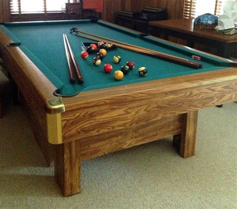 brunswick bristol ii 9 foot recreational billiards pool