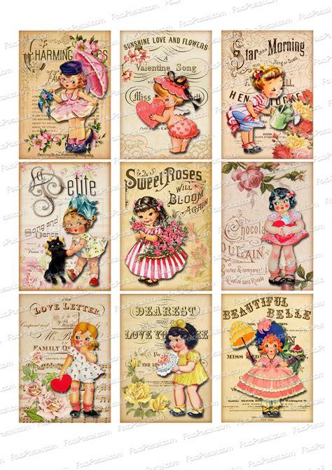 imagenes vintage para imprimir en espejo papel comestible vintage 10 1 hoja con 9 rectangulos