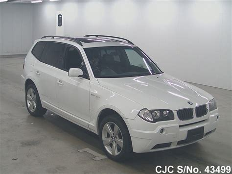 2004 bmw x3 for sale 2004 bmw x3 white for sale stock no 43499 japanese