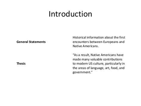 An Introduction 2 by Outline Of Exle Essay