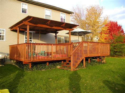 backyard decks for small yards small yard deck plans landscaping gardening ideas