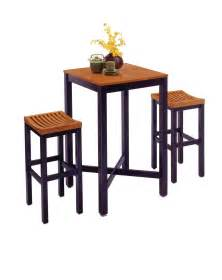 Bar Table And Stool Home Styles Bar Table With Veneer Top Bar Stools By Oj Commerce 5983 358 430 99