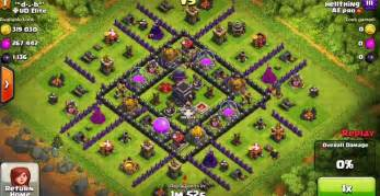 Best clash of clans town hall level 9 defense base design 9 jpg