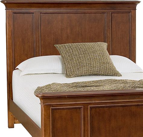 american drew classics king panel headboard in brown
