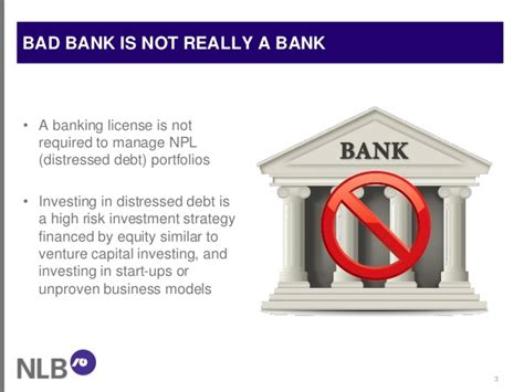 bad bank quot bad bank quot is the only efficient strategy to restructure a