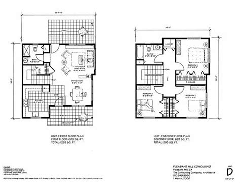 cohousing floor plans cohousing floor plans floor plans pdx commons cohousing