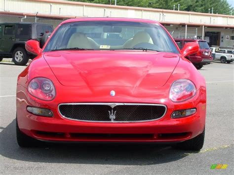 red maserati sedan 2004 rosso mondiale red maserati coupe cambiocorsa