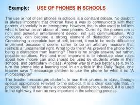 Cell Phone Argumentative Essay by Persuasive Essay