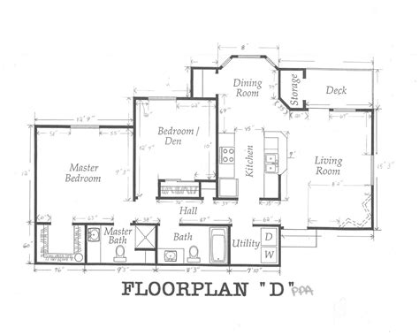 Floor Plans With Dimensions by House Floor Plans With Dimensions Single Floor House Plans