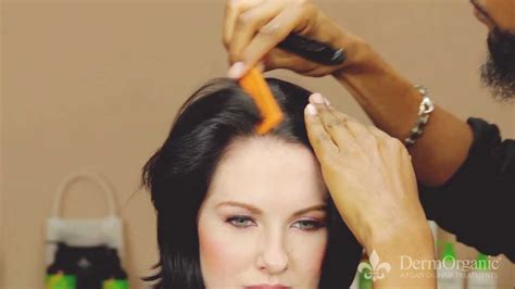 easy ways to style a bob three ways to spice up an a line bob in less than 60