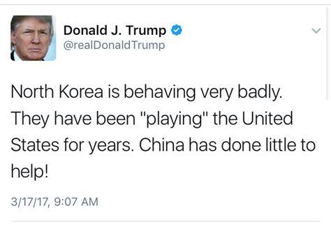 donald trump north korea tweet up cara kerja senjata yang diakui trump menangkan