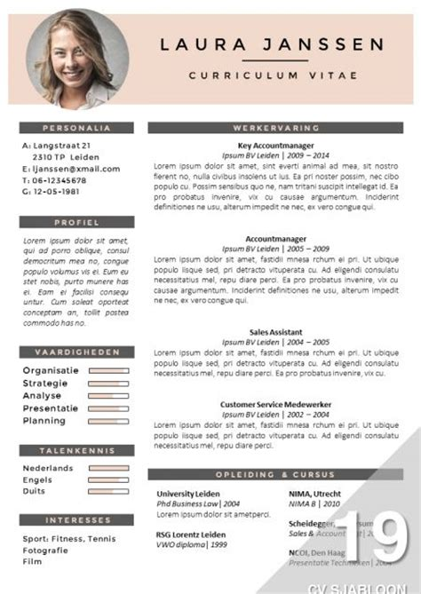 Originele Cv Sjabloon 52 best go sumo cv templates resume curriculum vitae