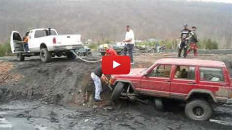 how to a not to pull how quot not quot to pull a truck out of the mud vinemoments
