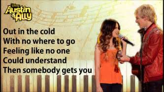 Parachute And Ally Lyrics You Can Come To Me Ross Lynch Marano Song W