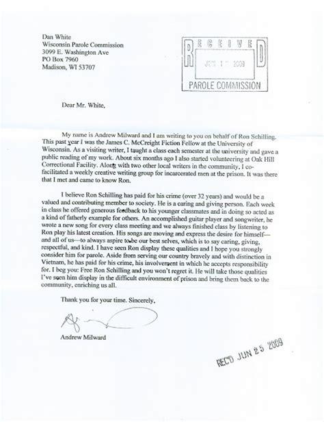 Compassionate Release Letter Exle Free Schilling 05 10 12