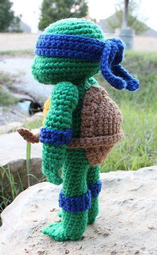 amigurumi teenage mutant ninja turtle  crochet