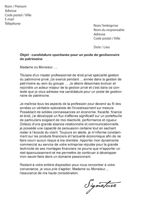 Exemple De Lettre De Motivation Vous Moi Nous Modele Lettre De Motivation Finance Document
