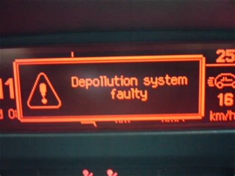 depollution system faulty peugeot 307 depollution system faulty wowkeyword