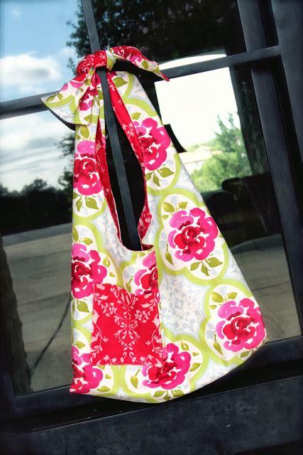 Sling Bag Unik Flower la da boho sling bag tutorial